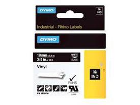 Dymo 1805436 19mm White on Black