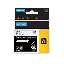 Dymo 18482 9mm White Tape - S0718240
