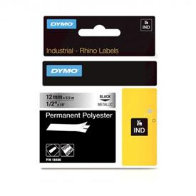 Dymo 18761 12mm Metallized Tape - S0718180
