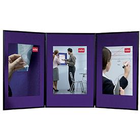 Nobo 1900044 Showboard 3 Panel