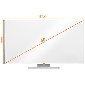 Nobo 1905293 55 Inch Widescreen Melamine Whiteboard