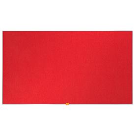 Nobo 1905311 40 Inch Widescreen Red Felt Noticeboard
