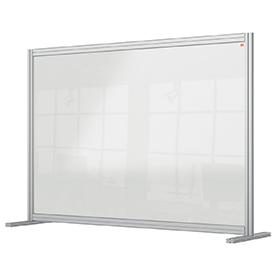 Nobo 1915490 Premium Plus Desk Divider 1400x1000mm Acrylic