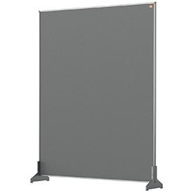 Nobo 1915502 Grey Impression Pro Desk Divider 800x1000mm