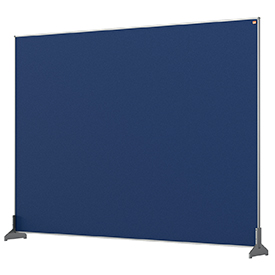 Nobo 1915505 Blue Impression Pro Desk Divider 1400x1000mm