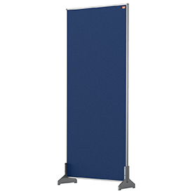 Nobo 1915509 Blue Impression Pro Desk Divider 400x1000mm
