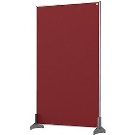 Nobo 1915513 Red Impression Pro Desk Divider 600x1000mm