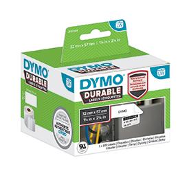 Dymo 1933084 LW Durable medium multi-purpose 57mm x 32mm Black on White