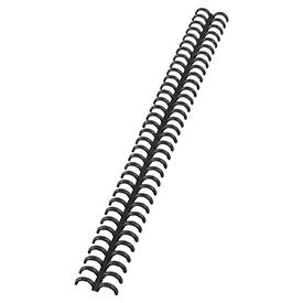 GBC 388019E 8mm Black Clickbind Rings