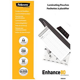 Fellowes 5312903 A4 80Mic Pouch 250pk