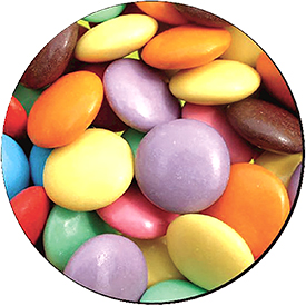 Fellowes 5881203 Brite Pad Smarties Mouse Pad Pack of 6