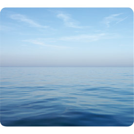 Fellowes 59039 Earth Series Mouse Pad Blue Ocean 6pk