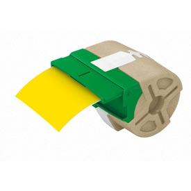 Leitz 70160015 PET Adhesive 88mm Label Cartridge Yellow