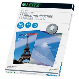 Leitz 74800000 A4 UDT iLAM 100 Micron Pouch 100Pk