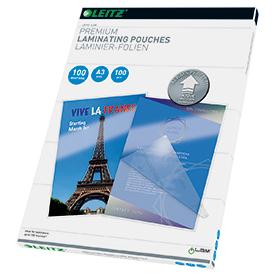 Leitz 74870000 A3 UDT iLAM 2 x 100 Micron Pouch 100Pk