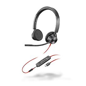 Poly Blackwire 3325 USB-C UC Binaural Headset