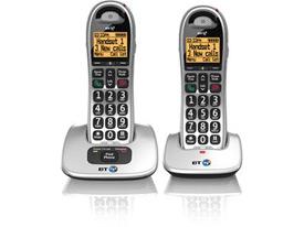 BT BT4000 Twin Big Button DECT Telephone