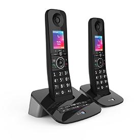 BT Premium Twin Dect Call Blocker Telephone with Answer Machine