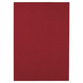 GBC CE040030 Leathergrain A4 Cover Dark Red 100pk