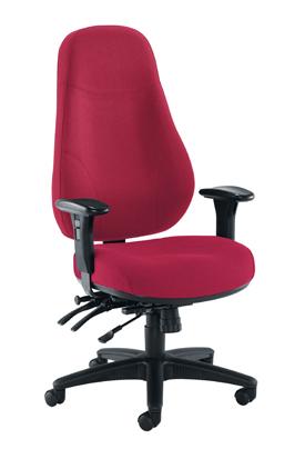 Cheetah Fabric Chair Ruby