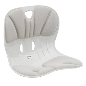 Curble Wider Posture Corrector Chair Grey