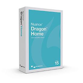 Nuance Dragon Home 15 - English Box Retail