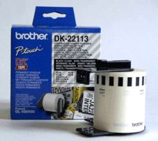 Brother DK22113 Clear Film Tape