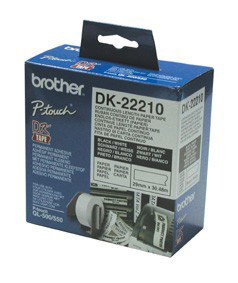 Brother DK22210 Continuous Paper Tapes