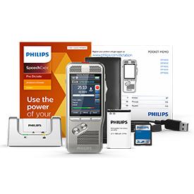 Philips DPM8200 Pocket Memo with SpeechExec Pro Dictate 11