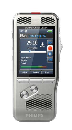 Philips DPM8300 Pocket Memo
