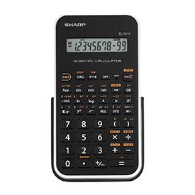 Sharp SH-EL501X 1 Line Scientific Calculator White