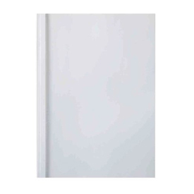 GBC IB370045 A4 Clear White Gloss Thermal Binding Cover 6mm Pack of 100