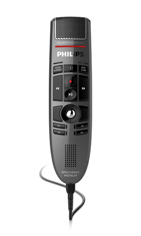 Philips LFH3500 SpeechMike Premium USB Dictation Microphone