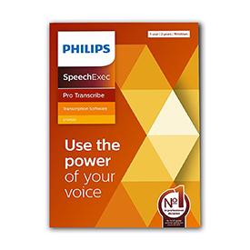Philips LFH4522 SpeechExec 11 Pro Transcribe 2 Year Subscription Boxed