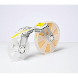 Brother MCET1YE Tape Creator Plastic Film Width 15mm Yellow