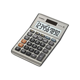 Casio MS-100BM 10 Digit Semi Desk Calculator