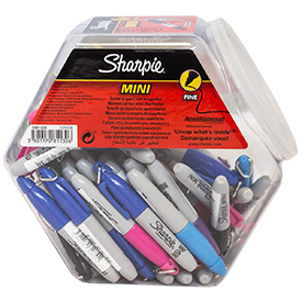 Sharpie S0811300 Mini Assorted Pens pack of 72