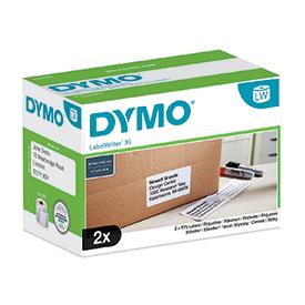 Dymo S0947420 High Capacity XL Shipping Label Box of 2 Rolls