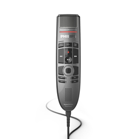 Philips SMP3810 SpeechMike Premium Touch with Barcode Reader Slide Switch