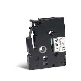 Brother TZEFX221 Black on White 8M x 9mm Flexi Tape