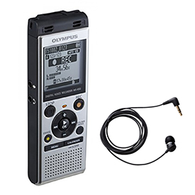 Olympus WS-852 4GB Digital Notetaker with TP-8 Telephone Pickup