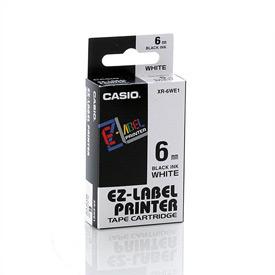 Casio XR-6WE Black on White