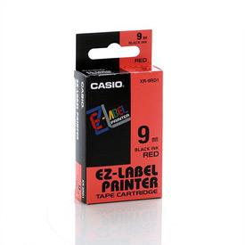 Casio XR-9RD Black on Red