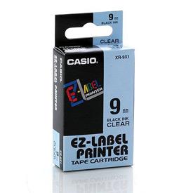 Casio XR-9X Black on Clear